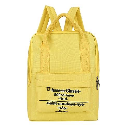 MINXINWY mochilas escolares juveniles, Moda bolsos mochilas mujer casual desigual Bolsa Mochila de viaje Mochila