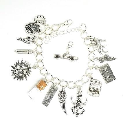 Amazon Supernatural Charm Bracelet Deans Amulet Mrs