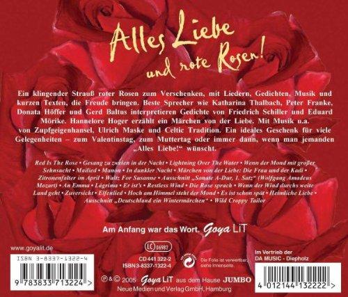 Alle Liebe Und Rote Rosen Amazoncom Music