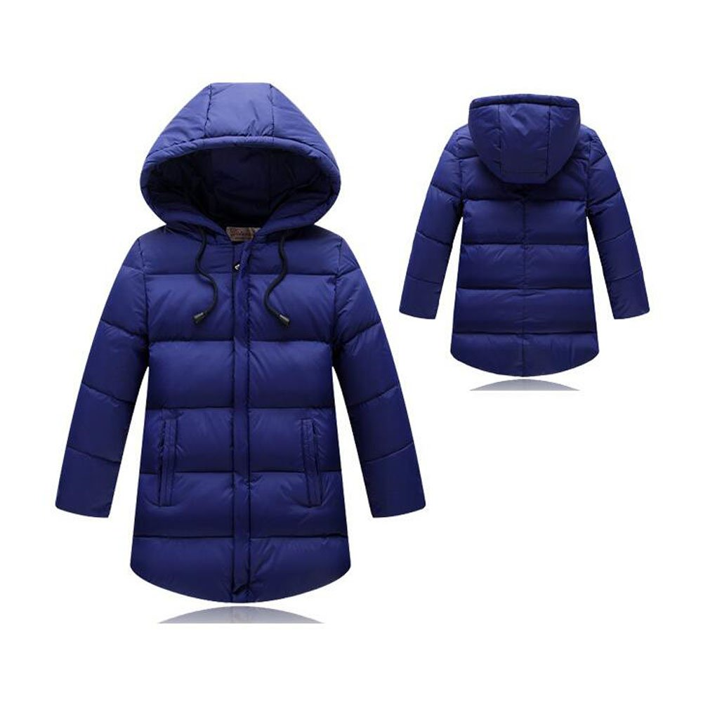 Meijunter New Unisex Kids Down Coat Warm Thicken Colorful Jabket With Hooded