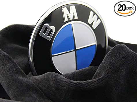1pc 82mm BMW 2 pin Emblem Logo Replacement for Hood//Trunk for All Models BMW E30 E36 E46 E34 E39 E60 E65 E38 X3 X5 X6 3 4 5 6 7 8