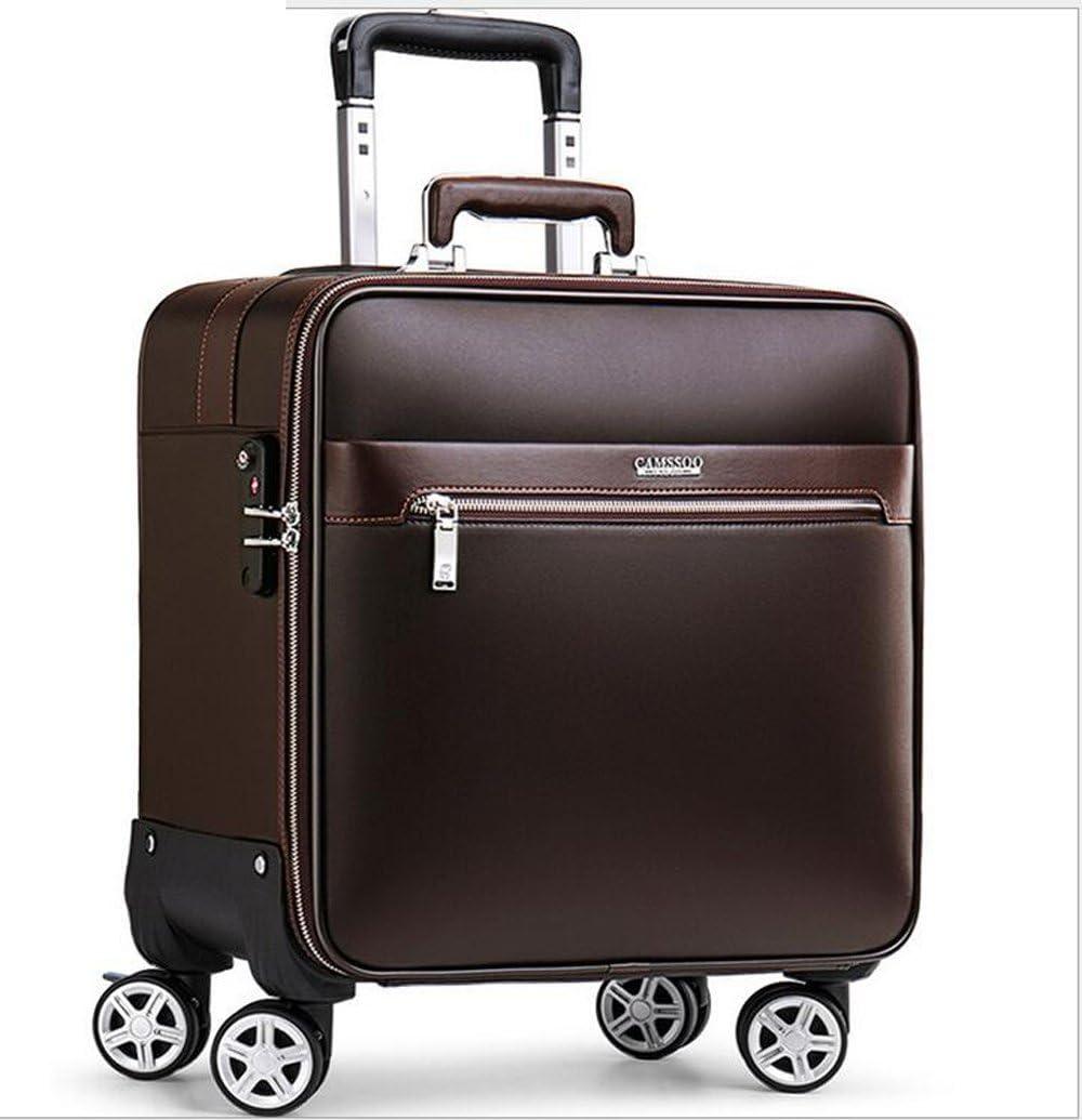 PINCHU Porte-Documents Portable /à roulettes Sac de Bureau Professionnel Sacoche de Chariot Trolley