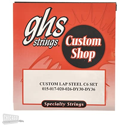 amazon com ghs electric lap steel strings c6 tuning 15 36 musical