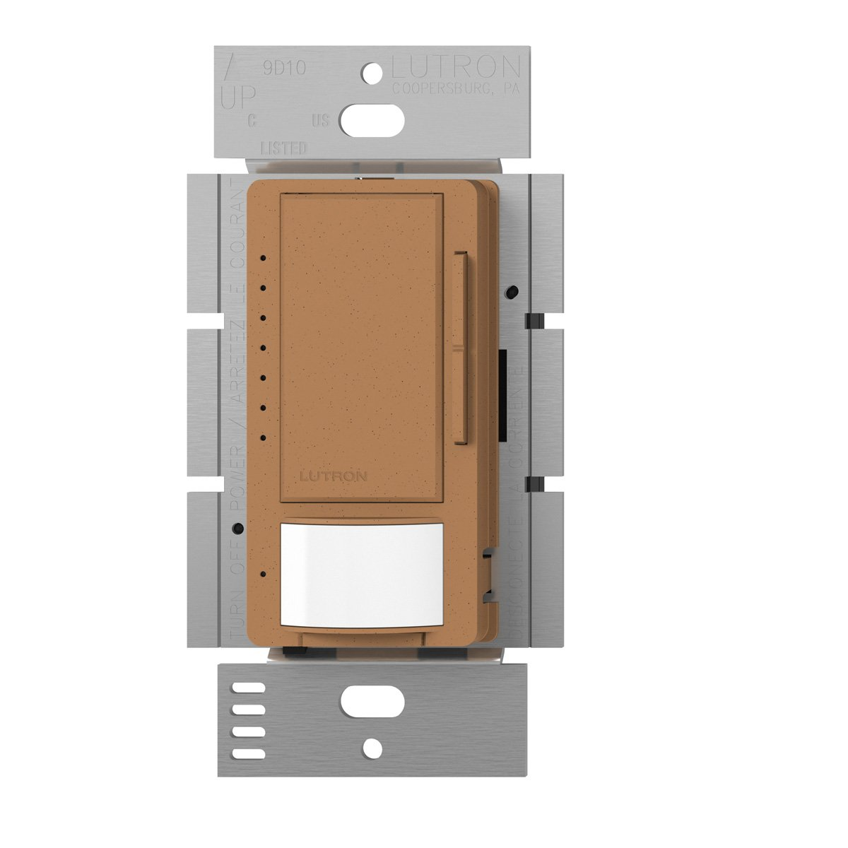 Lutron MSCL-VP153M-TC Maestro CL Single Pole Multi Location Vacancy Sensing Dimmer, Terracotta by Lutron B00FQL2O5W テラコッタ テラコッタ