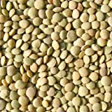 Bulk Peas And Beans, Lentils, Green, 25 Lbs