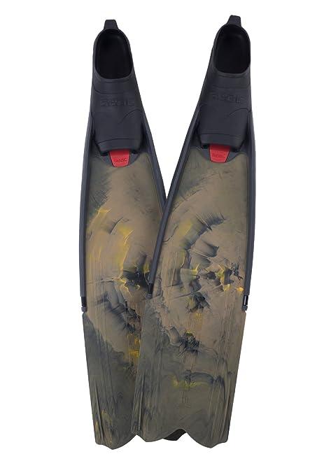 Pair SEAC Motus Long Blade Spearfishing Freediving Fins