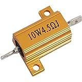 US Stock 10pcs 5W 220 Ω ohm 220RJ Cement Resistors ±5/% Ciment Resistance Fixed