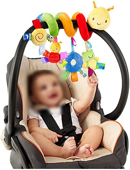 Lalang Baby Kids Spiral Activity Hanging Toys Stroller Toy