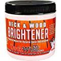 DeckWise Deck & Wood Brightener - Part 2 - 16 oz. for 600 Sq. Ft. of Decking