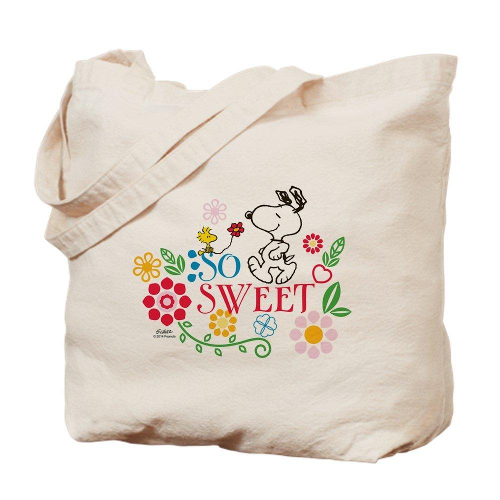 CafePress - So Sweet - Snoopy - Tote Bag B00WJKOCD0