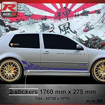 ADN-Auto 61754 Stickers – 018 M GTR Sticker for VW Golf 4
