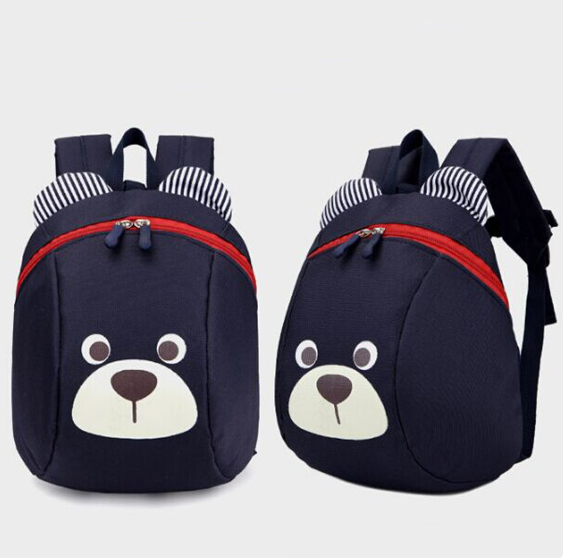 XYTMY Children Small Toddler Anti-lost Walking Safety Leash Backpack Bear for Under 5 Years Old Kids Deep Blue