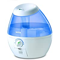 Mini FilterFree CoolMist Humidifier; See the Mist, Feel the Relief