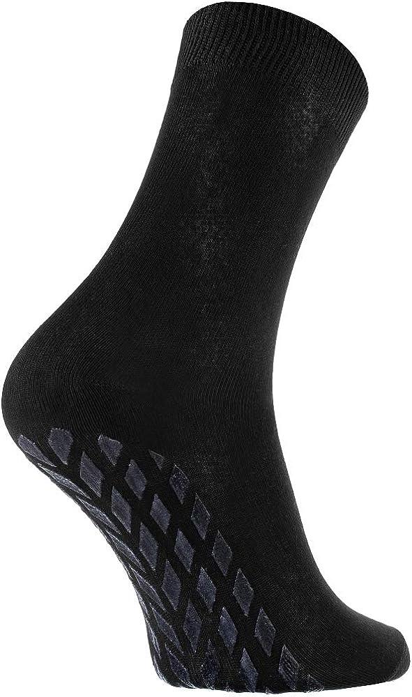 Donna Uomo Calze Antiscivolo di Bamb/ù Rainbow Socks