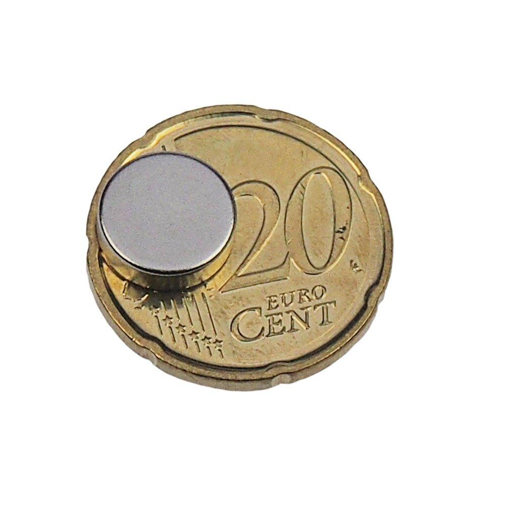 Premium magneti al neodimio 10 x 3 mm extra Strong Hold Magneti ebos ✓ 25 pz bacheca magnete frigorifero disco magnetico