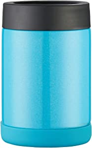 Pretfarver Stainless Steel Double Insulated Can Cooler and Beer Bottle Cooler, 12 Oz Skinny Can Holder for Drink Tumbler Beer Can -Bottle Insulators, Perfect for Tailgating and Parties BPA Free Blue