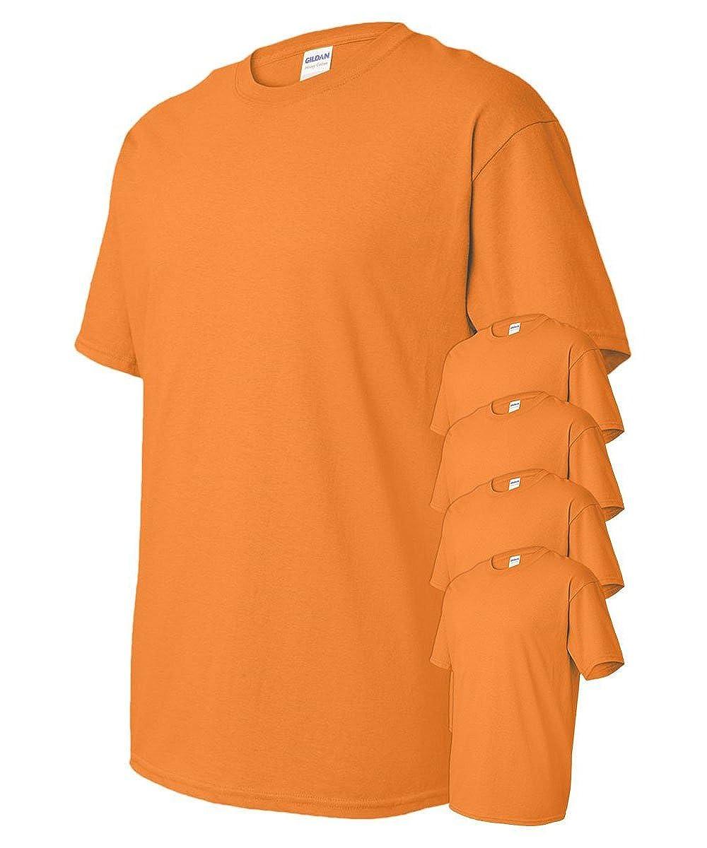 Gildan Men's Heavy Cotton T-Shirt ( Pack of 5 ) G500