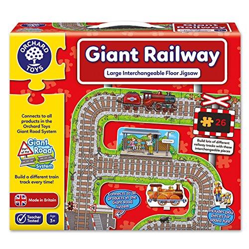 (Giant Railway Jigsaw)