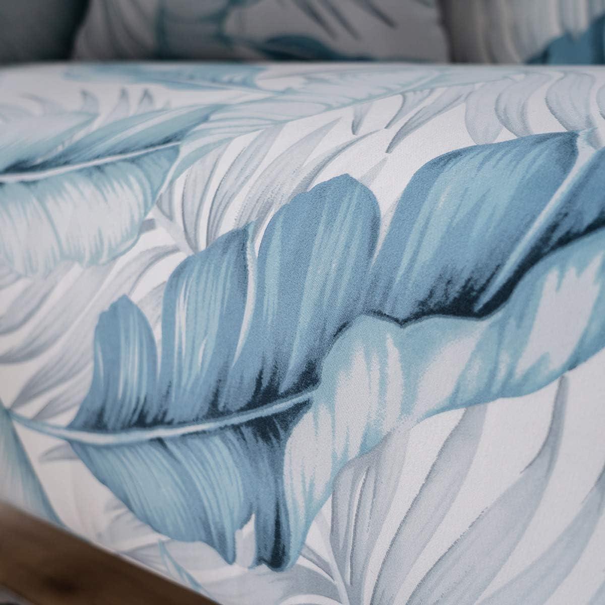 princess Sofa-Schonbezug aus elastischem Stoff mit Blumenmuster und Vogel-Muster 1 St/ück 1 Seater