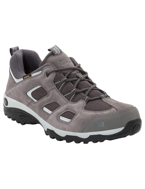 (Tarmac gris 6011) 46 EU Jack Wolfskin Vojo Hike 2 Texapore Faible M imperméable, Chaussures de Randonnée Basses Homme