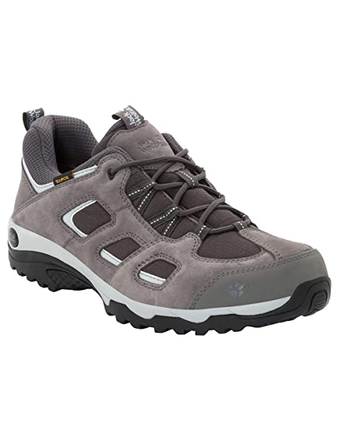 f57b81c254b Jack Wolfskin Vojo Hike 2 Texapore Low Men's Waterproof Hiking Shoe, Tarmac  Grey, US