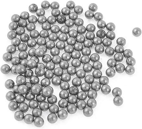 Sourcingmap Carbon Steel Bicycle Wheel Balls Bearing 6mm Dia 300 Pcs Silver Tone