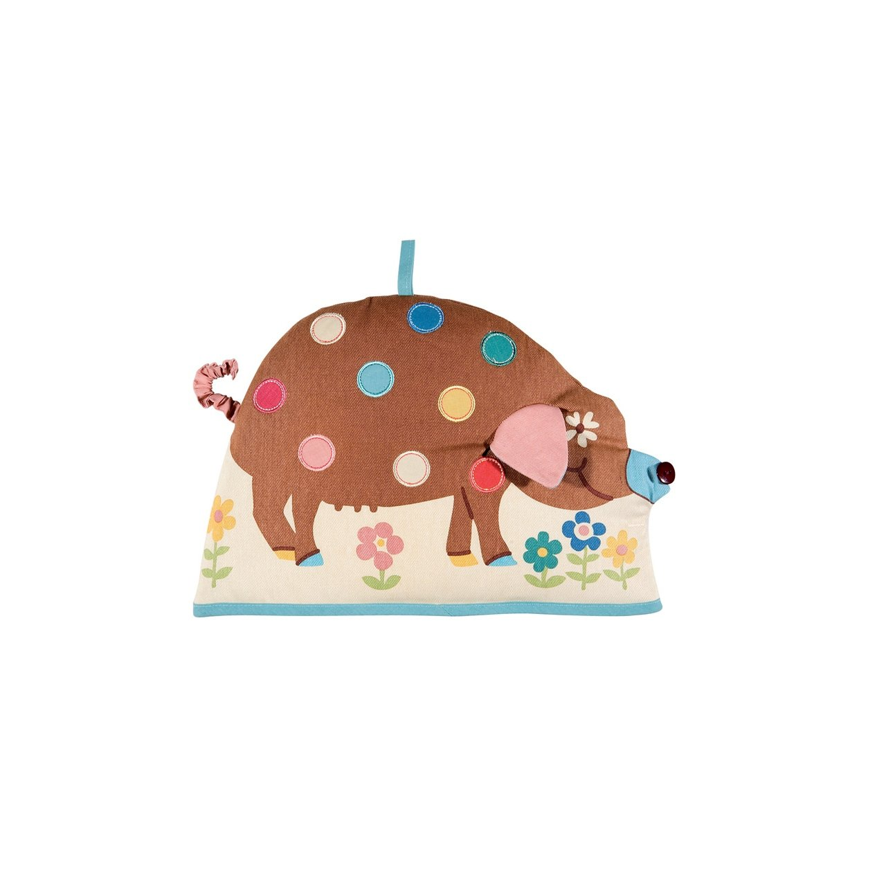 Ulster Weavers Spotty Pig Shaped Decorative Tea Cosy
