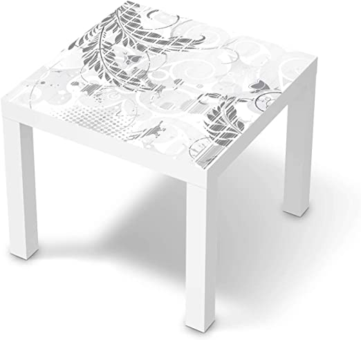creatisto Möbel Tattoo passend für IKEA Lack Tisch 55x55 cm I Möbelsticker Möbel Sticker Aufkleber Folie I Innendekoration für Esszimmer, Wohnzimmer
