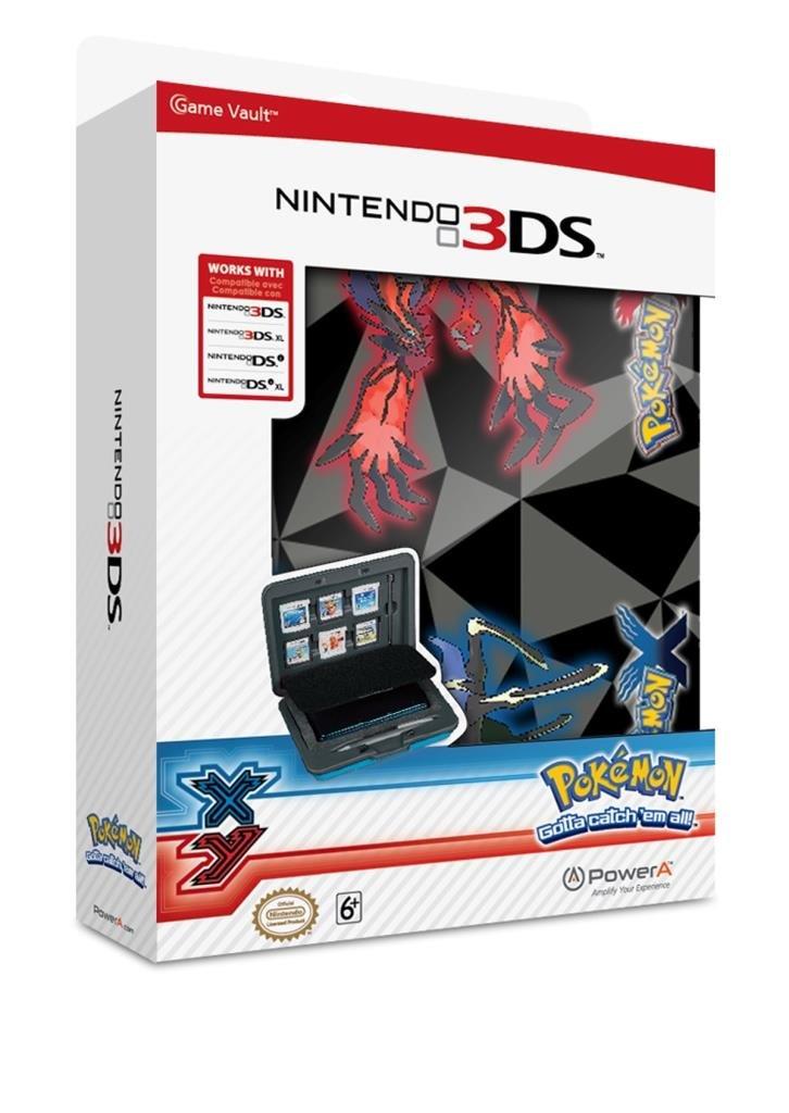 Pokemon X & Y Game Vault Case (3DS XL / 3DS / DSi XL / DSi)
