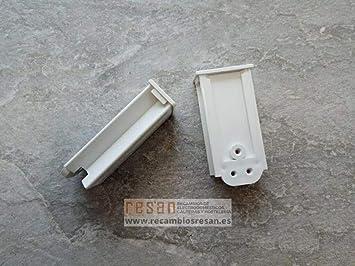 Mepamsa - Cantonera frontal campana Mepamsa blanca: Amazon.es: Bricolaje y herramientas