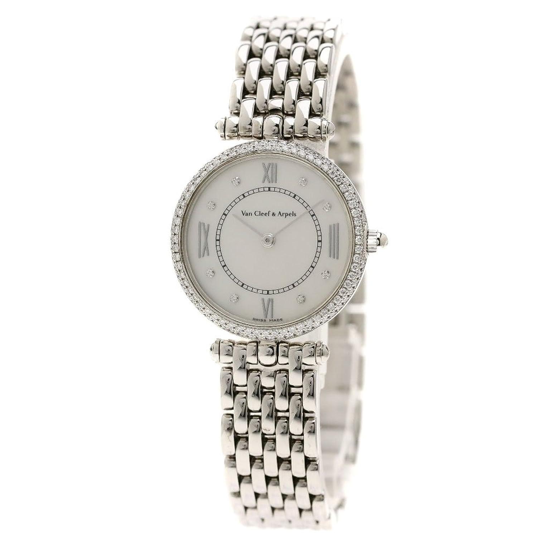 [ヴァンクリーフ&アーペル]ピエール アーペル 腕時計 K18ホワイトゴールド/ダイヤモンド レディース (中古) B079WQD9GT