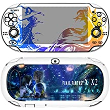Premium Skin Decals Stickers For PlayStation VITA Original 1st Generation PCH-1000 Series Consoles - POP SKIN Final Fantasy X | X-2 #05 + Free Gift Screen Protector Film + Wallpaper Screen Image
