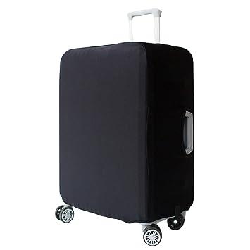 Funda Protectora de Maleta La tela de estiramiento viaje equipaje cubierta Carretilla caso protectora cubierta, Negro (S): Amazon.es: Equipaje
