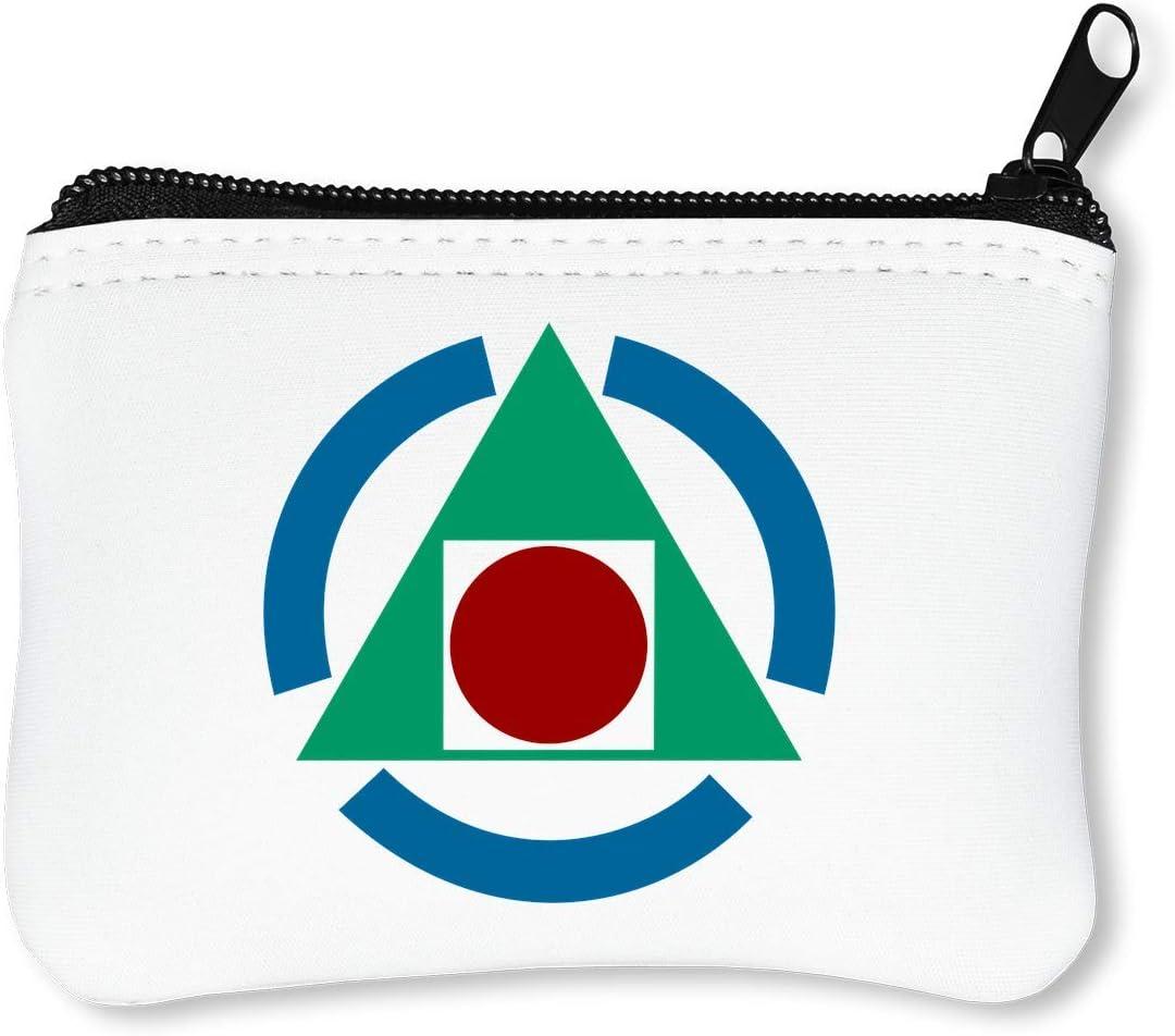 Wikipedia Triangle Billetera con Cremallera Monedero Caratera: Amazon.es: Equipaje