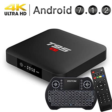d1302ff63cc Easytone Android 8.1 TV Box with 4GB RAM 32GB ROM