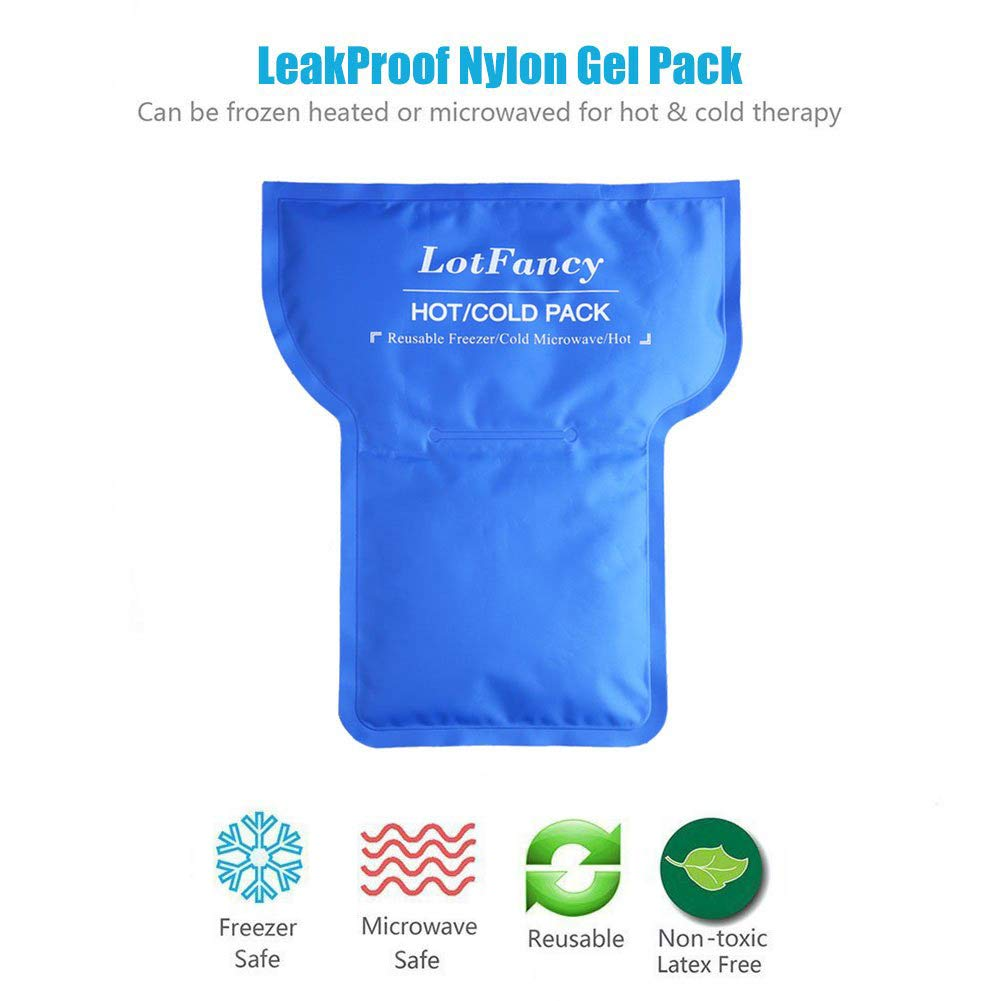 Amazon.com: Hombro paquete de hielo Wrap por LotFancy ...