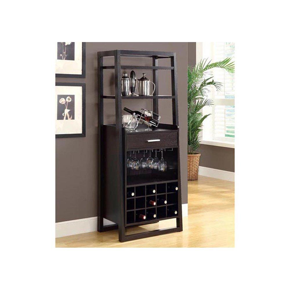 Cherry Bar Cabinet Amazoncom Bars Wine Cabinets Home Kitchen Bar Tables Bar