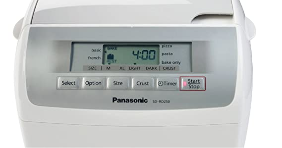 Panasonic Automatic Bread Maker - Panificadora (Blanco, 120AC ...