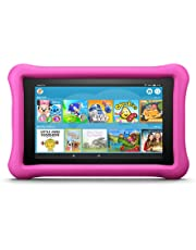 """Fire 7 Kids Edition Tablet, 7"""" Display, 16 GB, Pink Kid-Proof Case"""