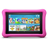 """Fire 7 Kids Edition Tablet, 7"""" Display, 16 GB, Pink Kid-Proof Case (Previous Generation - 7th)"""