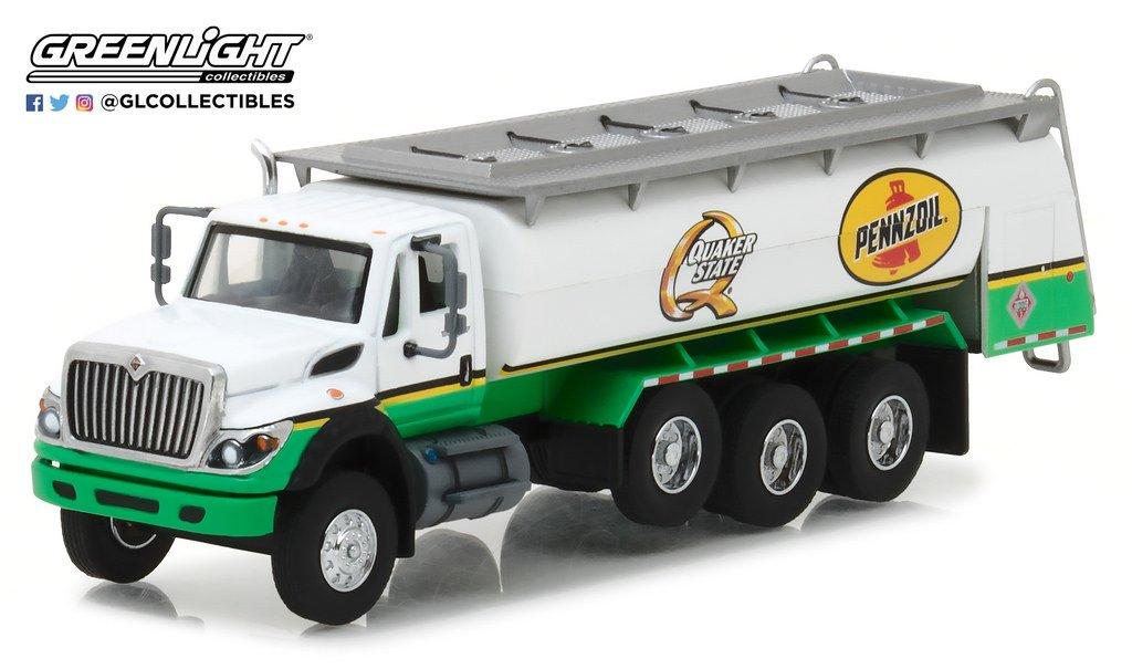 GL Greenlight 1:64 SD Truck Series 3 2017 International Pennzoil Quaker State Truck