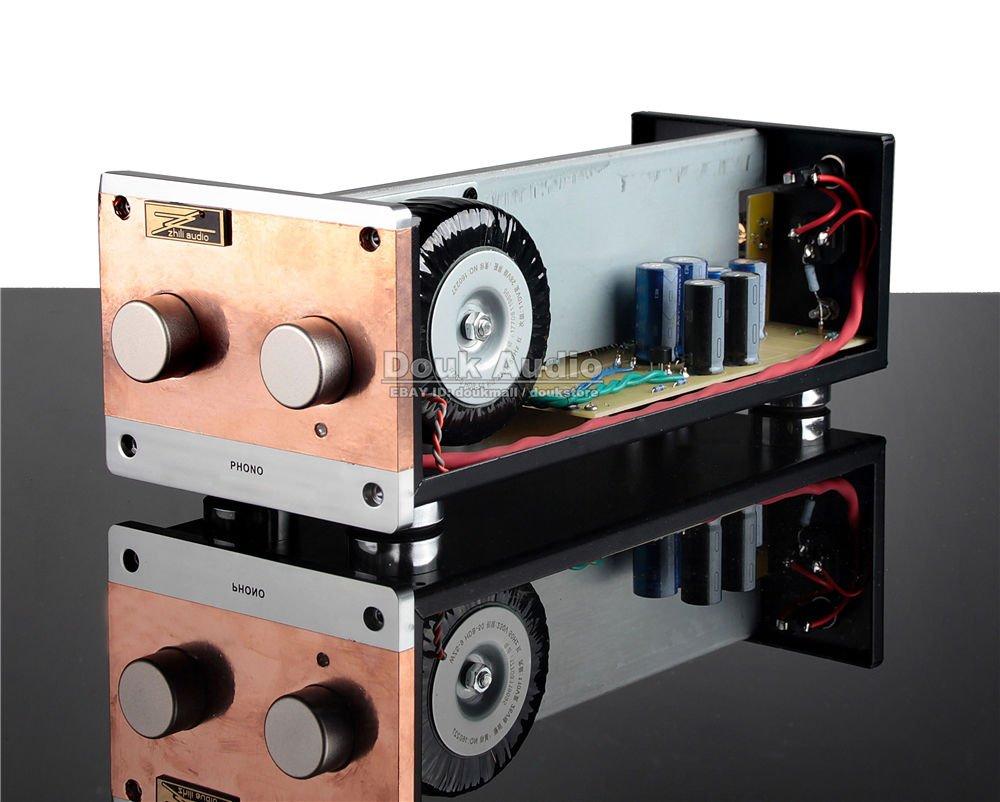 nobsound Valve Tube Phono mm Tocadiscos Plato Giratorio preamplificador alta fidelidad Tocadiscos Audio Pre-Amp: Amazon.es: Electrónica