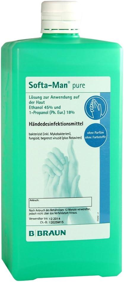 Softa Man Pure 1000 Ml Handedesinfektionsmittel Amazon De