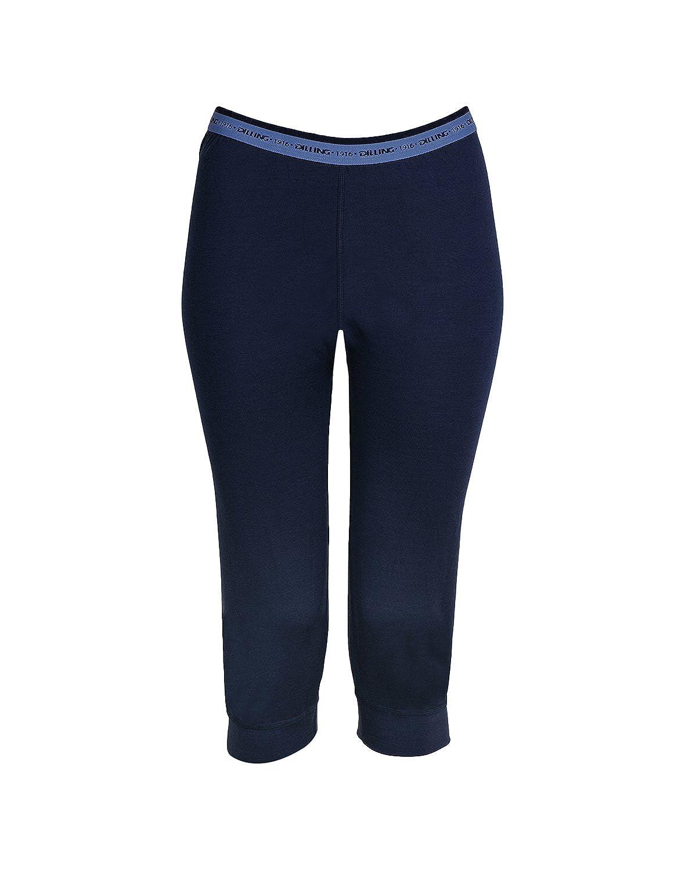 DILLING Leggings für Damen mineralblau 100/% Merinowolle NEU