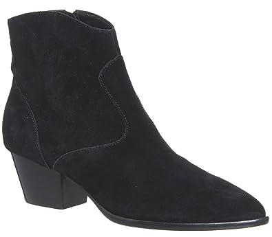 Ash Chaussures Daim Noir En Femme Bis Boots A Footwear Talon Heidi FlK1cJ