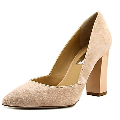 0abc59ed24a1 INC International Concepts Womens Eloraa Block-Heel Pumps Shoes Petal Pink  8 M US