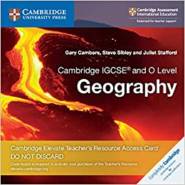 Buy Cambridge IGCSE® and O Level Geography Cambridge Elevate