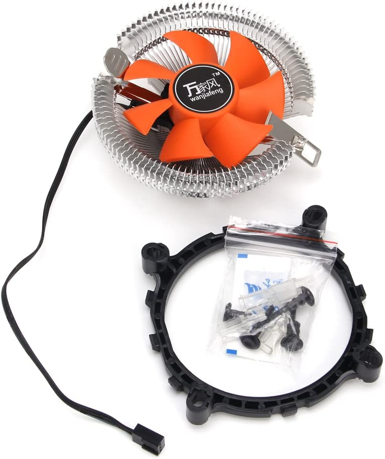 High Airflow Computer Case Fan,CPU Coolers Sleeve-Bearing Cooling Fan,DC 24V Cooling Fan Silent Cooler By Sixsons Computer Heatsink