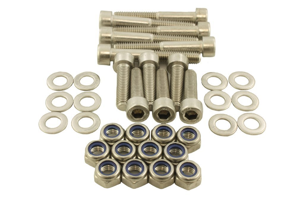Bearmach Stainless steel Tailgate Hinge Bolt Kit 90 110 Defender 90 & 110 All station wagon and hard top models BK 0188