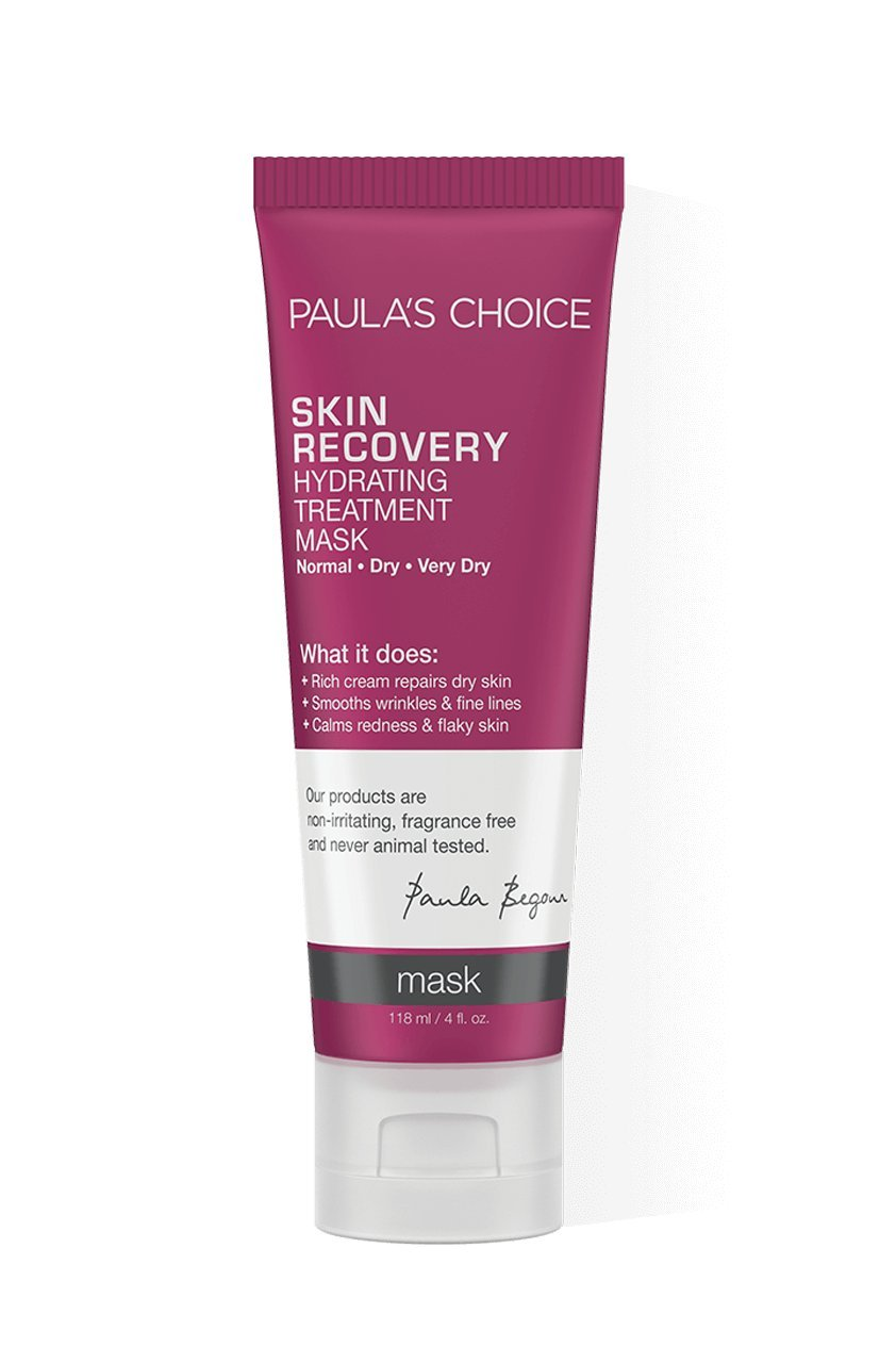 Paula's Choice SKIN RECOVERY Hydrating Treatment Facial Mask, 4 Ounce Bottle, for Extra Dry Skin